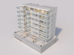 """Residence """"white tower"""" Jesolo"""